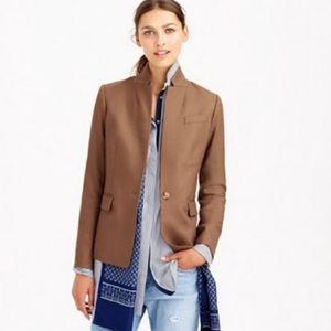 J. Crew Wool Regent Blazer in Camel NWOT